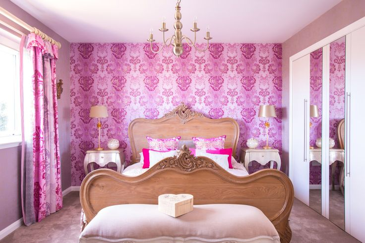 Bright Pink Boudoir