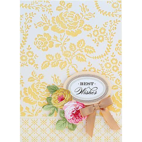 Anna Griffin® Cuttlebug™ Decorative Scenes Folder Set