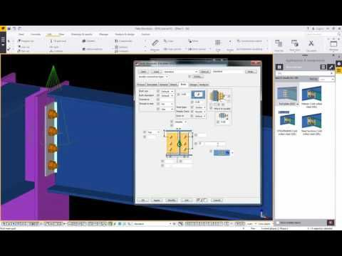 Trimble Tekla Structure 2016_Create New Autoconnection Rule