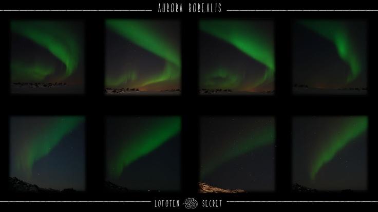 Lofoten, Aurora Boreal, Northern Lights, Aurore Boréale, Nordlys.