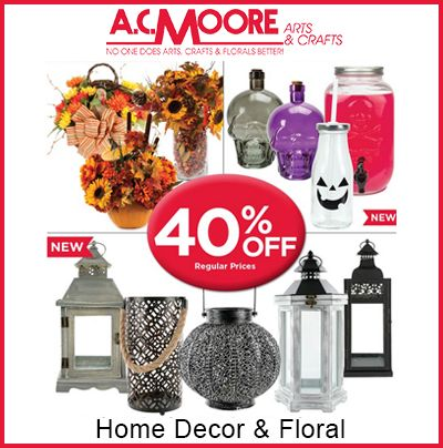 Ac moore home decor