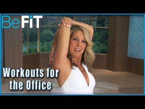 Denise Austin: Butt & Legs- Office Workout - YouTube