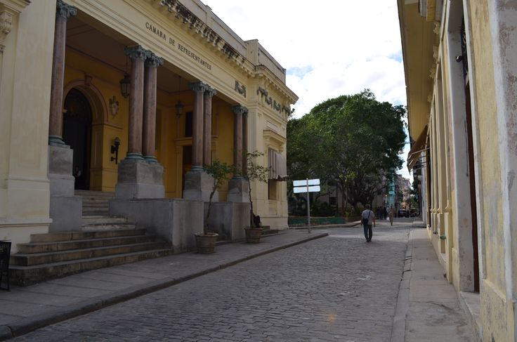 one of many streets in Havanna