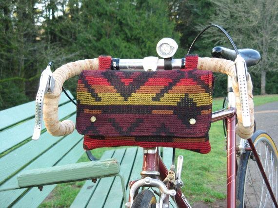 Pendleton Bike Bag by LolaJeans on Etsy, $39.00