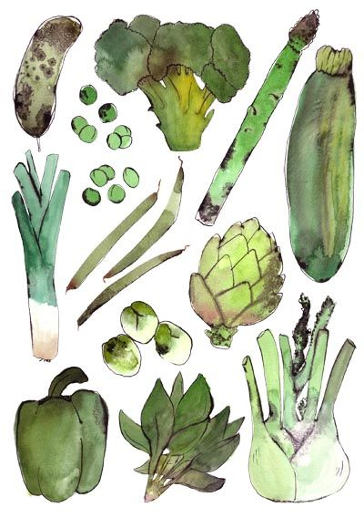 Vegetables - Bodil Jane