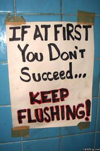 16 Funny Bathroom Notes That Will Make You Laugh - NoWayGirl