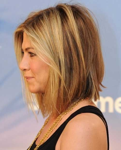 Neck Length Hairstyles neck length hairstyle with a longer front rachel melvin The Layered Hairstyles Of The Bob Can Be Short Medium And Long With The Medium Long Hairstyleslayered Hairstylesneck Length