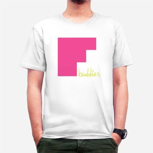 F buddies pink dari Tees.co.id oleh PLU.