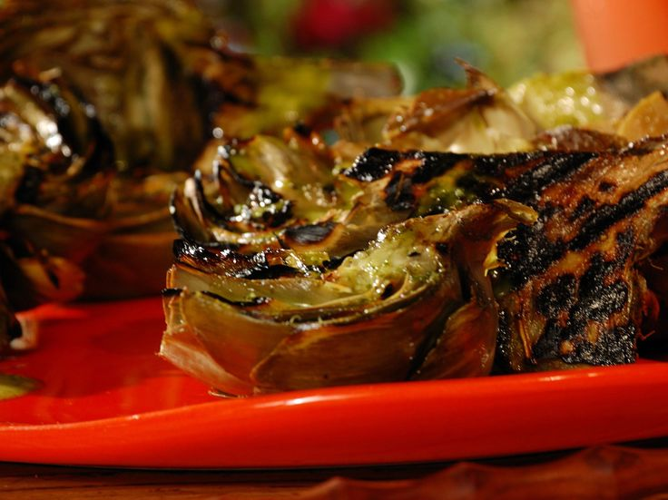 Grilled Artichokes. try them with the chipotle aioli sauce also on this board...but only if you can handle a little kick!!