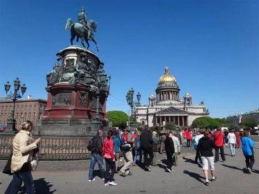 Poznávací zájezd 2017, Rusko - Petrohrad, letecký poznávací zájezd, Poznávací Zájezdy, Cestovní kancelář EMMA Brno