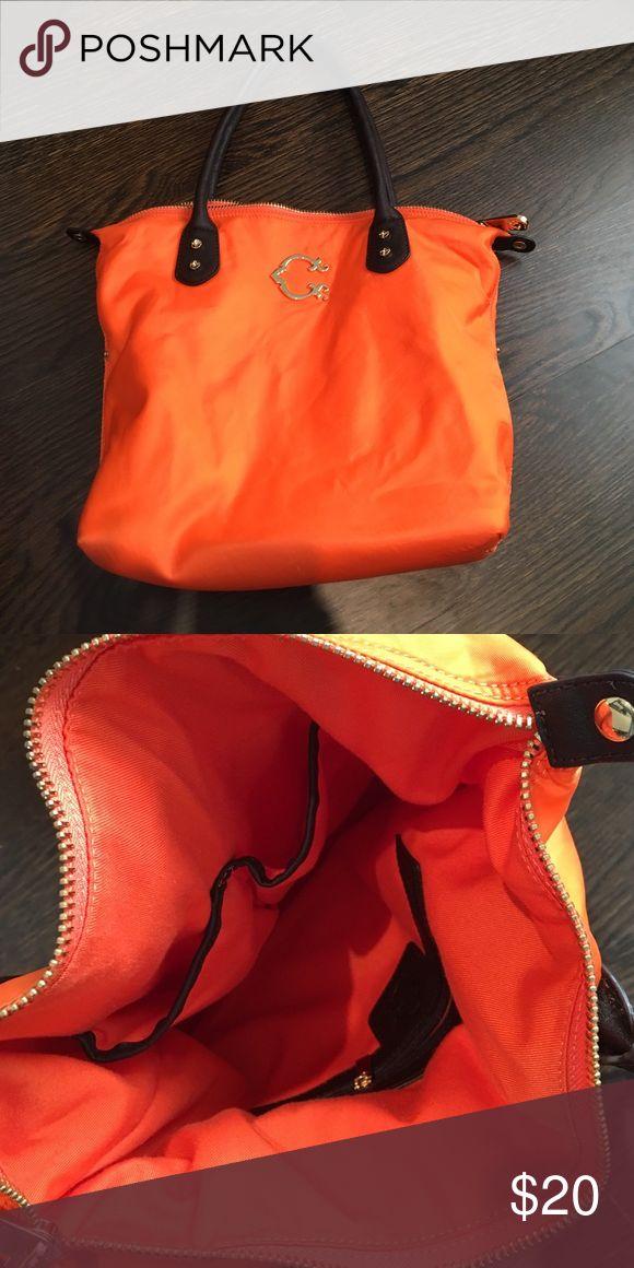 C Wonder Tote Bag Relatively New Cwonder Orange Tote Bag cwonder Bags Totes