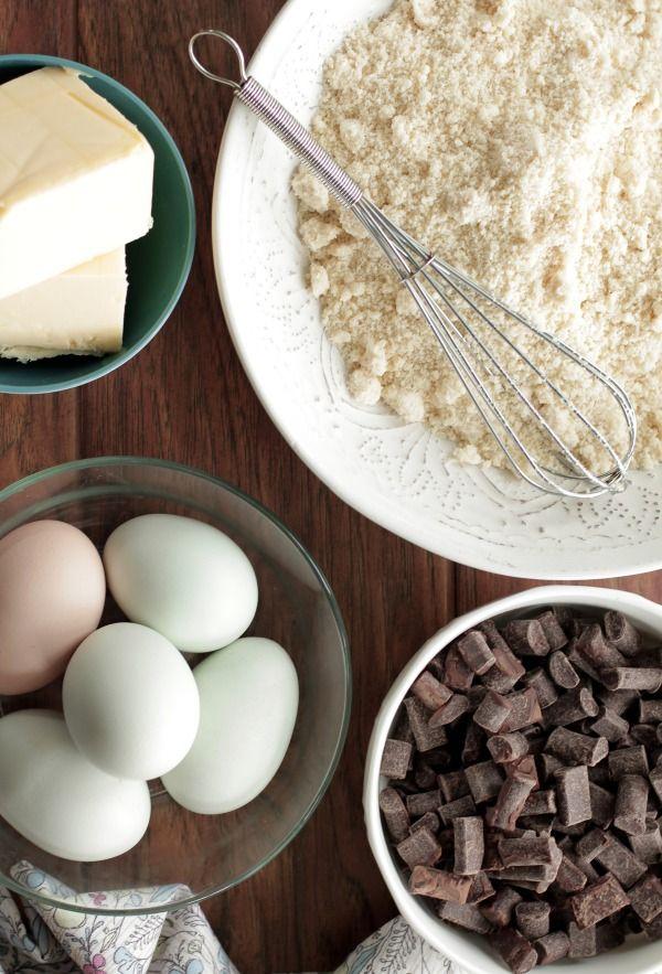 Grain-Free Chocolate Cake with Fudge Icing