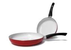 Now it is time to get instead of your old non stick but toxic cookware the best non stick but non toxic pans and pots, the ceramic coated cookware....