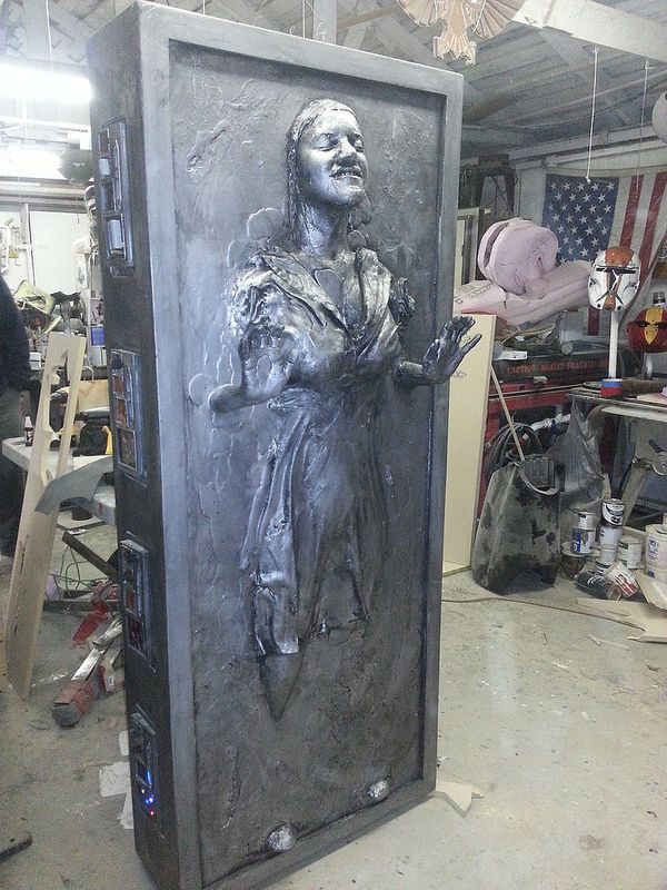 25+ best ideas about Han solo in carbonite on Pinterest - Awesome Halloween Props