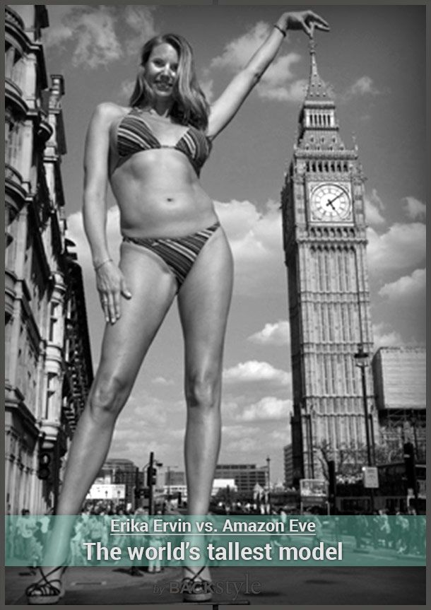 Amazon Eve is the world's tallest model, but she's much more than that TV character.