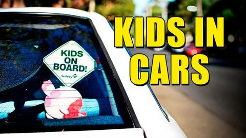 Renewed warnings for parents not to leave kids alone in cars..