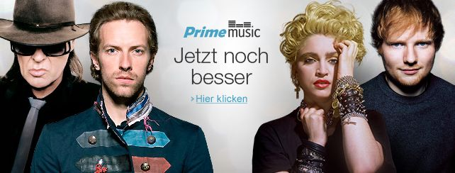 Amazon Prime Music ab sofort mit Künstlern des Musiklabels Warner Music Group - http://www.onlinemarktplatz.de/64659/amazon-prime-music-ab-sofort-mit-kuenstlern-des-musiklabels-warner-music-group/