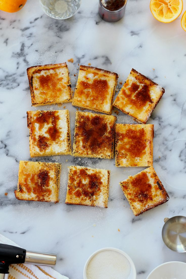 Here's what happens when you add a blow torch to your kitchen arsenal: you find an excuse to toast or brûléeeverything in sight. When you have fire from a portable gun, why wouldn't you top everything in sugar and crisp it? It's foolish not to, frankly. Can we makeRead more