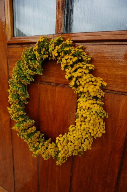 Krans,  dørkrans,  reinfann, natur, diy Wreath