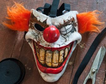 inspired twisted metal sweet tooth mask cosplay game props