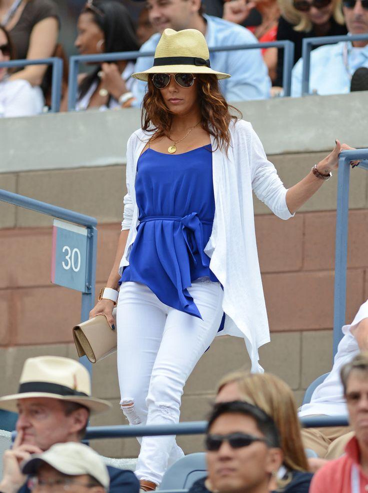 Celebrities at the US Open Tennis 2012 | POPSUGAR Celebrity