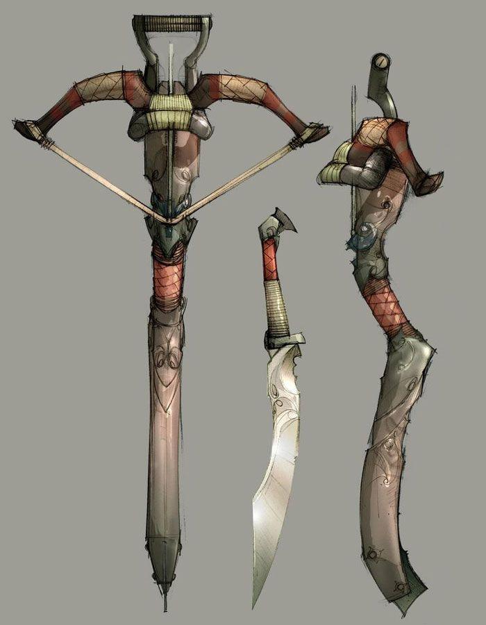 Kai's Crossbow -Heavenly Sword | Guns | Pinterest ...