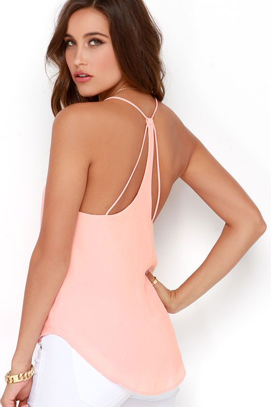 To a T Peach Top at Lulus.com!