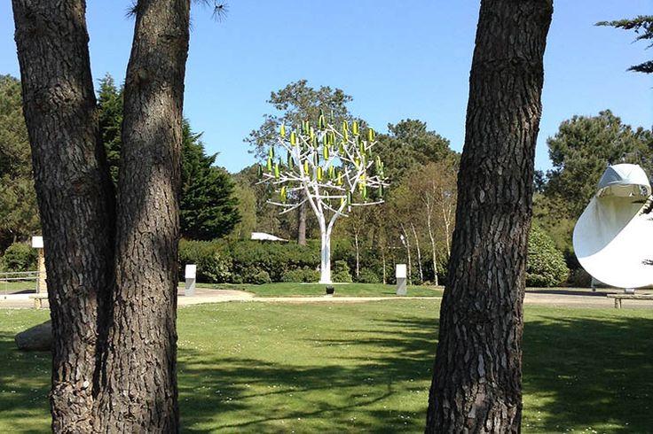 Deze windmolen-bomen zijn klein én mooi genoeg om zo in je tuin te zetten. Volgend jaar in produktie! (van NewWind R&D - L'Arbre à Vent)