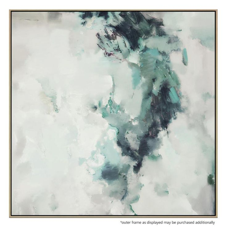 Inspired by reams of chemical smoke, this dynamic portrait works as both a compelling feature and as a softer, complementary accent to your home or office.