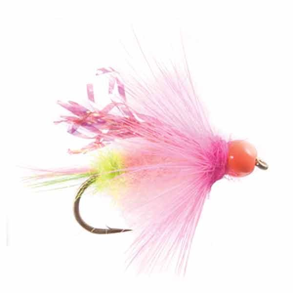 Steelhead fly gorman 39 s hot bead assassin pink flies for Bead fishing for steelhead