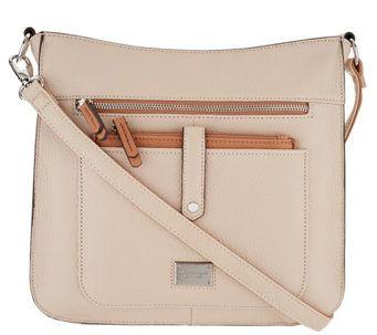 Tignanello Pebble Leather Oversized Crossbody - A293002