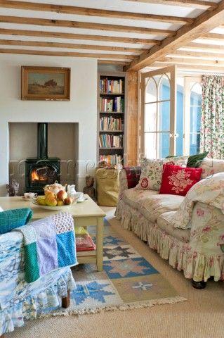 Cozy Cottage Living Room 444 best cottage living rooms images on pinterest | cottage living