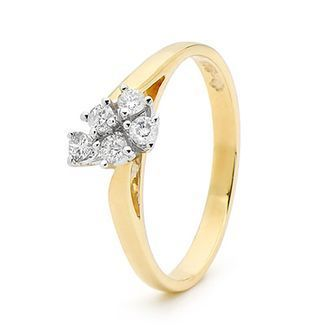 Buy our Australian made Engagement ring - 0.25 Carat Diamond - BEE-22269 online. Explore our range of custom made chain jewellery, rings, pendants, earrings and charms.