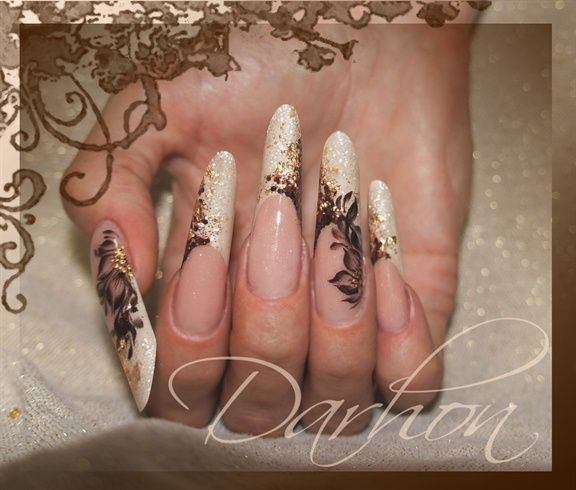 chocolate by Darhon - Nail Art Gallery nailartgallery.nailsmag.com by Nails Magazine www.nailsmag.com #nailart