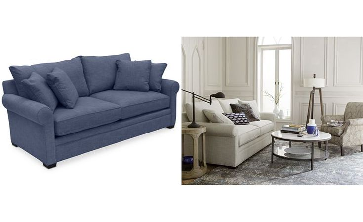 Dial II Sofa with 4 Toss Pillows - Furniture - Macy's
