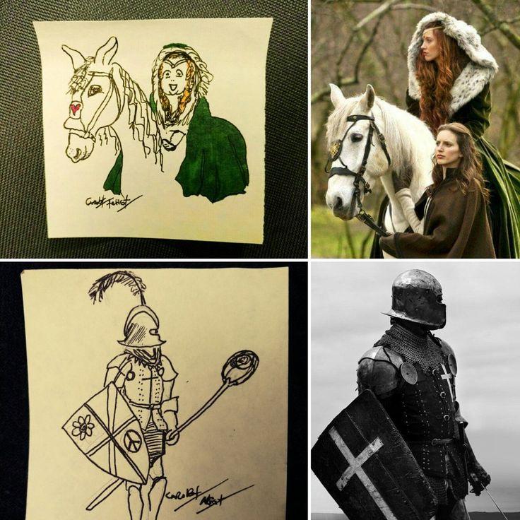 CaroBT Artist (@carobtartist) | Twitter #postit art daily drawing challenge