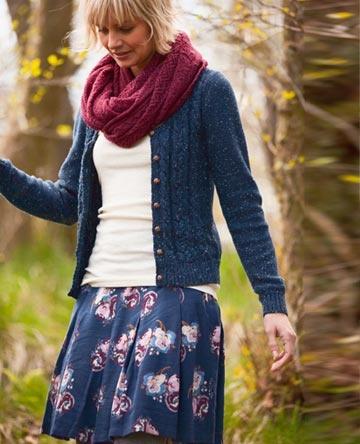 Bloom Skirt, Knit, Fat Face