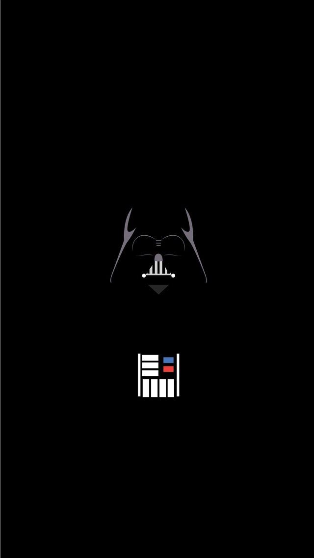 Vader Minimalist Minimaliststarwars Trends In 2020 Star Wars Wallpaper Star Wars Background Star Wars Wallpaper Iphone