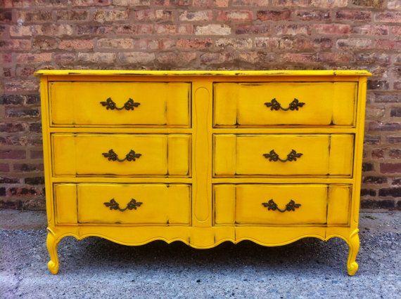 Best 25+ Yellow distressed furniture - 57.0KB