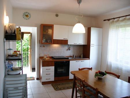Holiday House Volpe Rossa In Massa Macinaia (Tuscany): kitchen corner/dining room