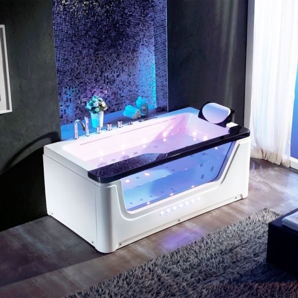 77 best images about baignoires baln o on pinterest for Baignoire balneo rectangulaire