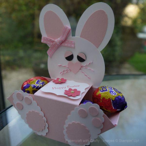 Envelope Punch Board Easter Bunny  by Linda Parker