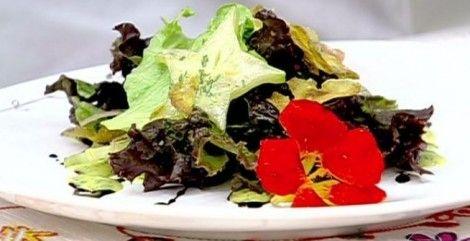 Salada preparada por Ricardo Caput para Psy | Receitas | Ana Maria Braga