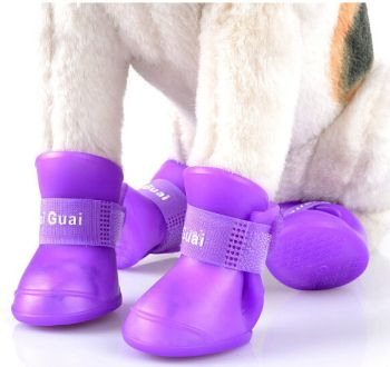 New Cute Dog Boots Waterproof Protective Rubber Silicone Pet Rain Shoes Boots botas Candy Colors S M L XL XXL 4pcs/set // FREE Shipping //     Buy one here---> https://thepetscastle.com/new-cute-dog-boots-waterproof-protective-rubber-silicone-pet-rain-shoes-boots-botas-candy-colors-s-m-l-xl-xxl-4pcsset/    #hound #sleeping #puppies