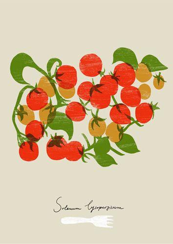 Cherry Tomatoes by Ana Zaja Petrak