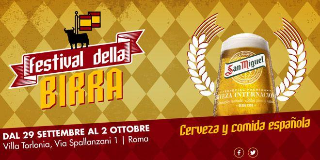Festiva della Birra Roma 2016 a Villa Torlonia   http://www.mipiaceroma.it/notizie/festiva-della-birra-villa-torlonia