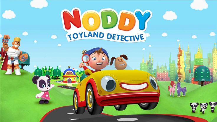 Bring DreamWorks Animation's TV show Noddy Toyland into your home with the new Noddy Toyland Detective app by Kuato Studios! #ad #NoddyToyland