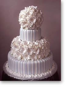 Stripes, MODEREN wedding cake