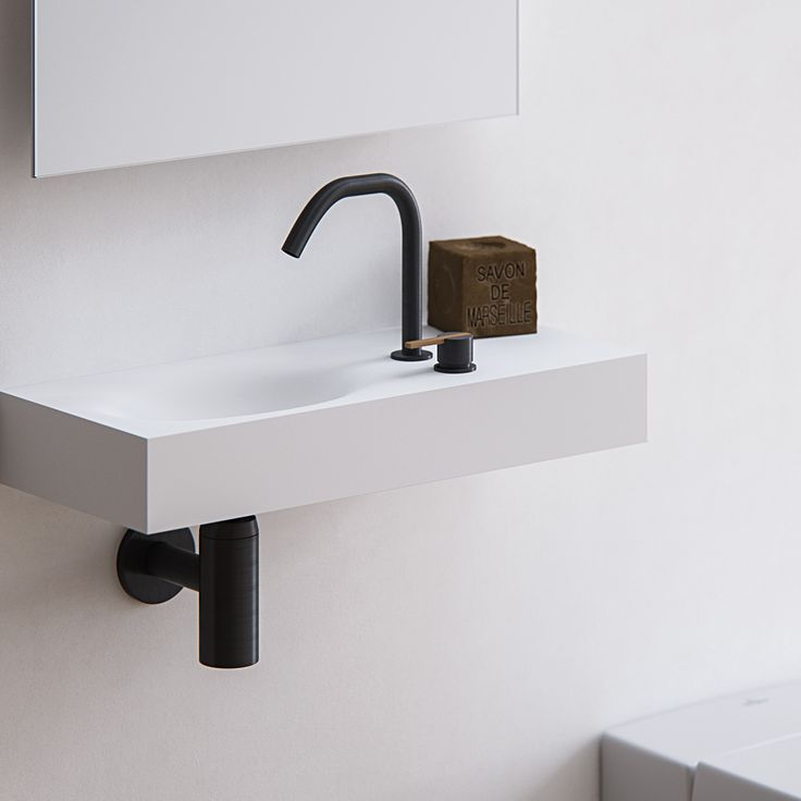 For free flowing motion, the Timeless handrinse basin has a subtle oval shape that blends seamlessly into the countertop. A great solution for small bathrooms and toilets. Not being bound to trends, the Timeless handrinse basin does exactly what its name promises. Completely made to measure washbasin out of HI-MACS (solid surface).
