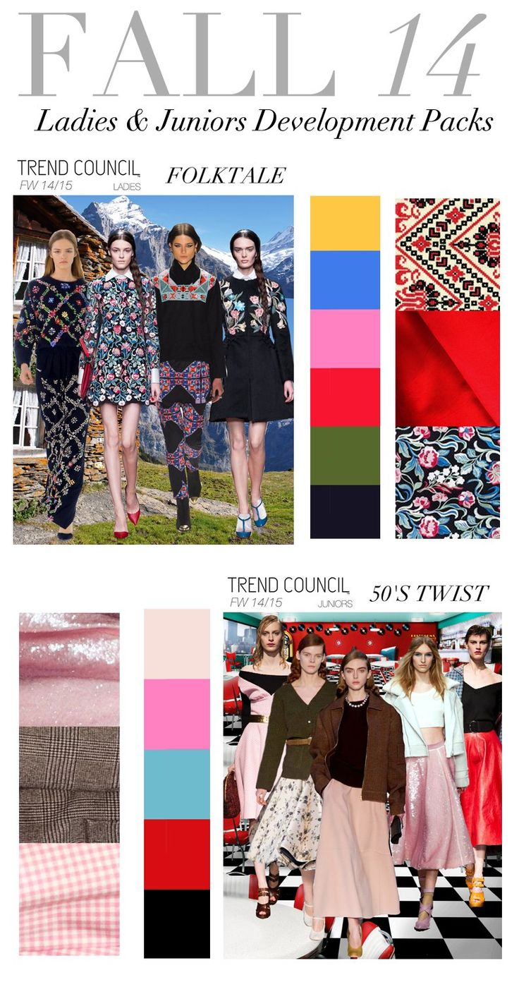 Fall 2014 Trend Council #style forecast
